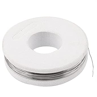 Wire 0, 25 mm FeCrAl 30Gauge AWG 32.8ft rodillo calentador: Amazon.com: Industrial & Scientific