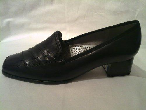 Black nbsp;Black Women's nbsp;– Comfort Doc nbsp;– nbsp;61802 Shoes nbsp;Leather Black Court nbsp;– xvpHx0q6w