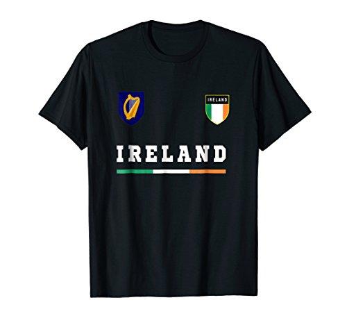 - Ireland T-shirt Sport/Soccer Jersey Tee Flag Football Dublin