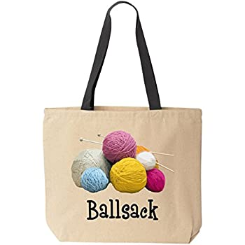 Amazon.com: CafePress - Knitting Tote Bag - Natural Canvas Tote ...
