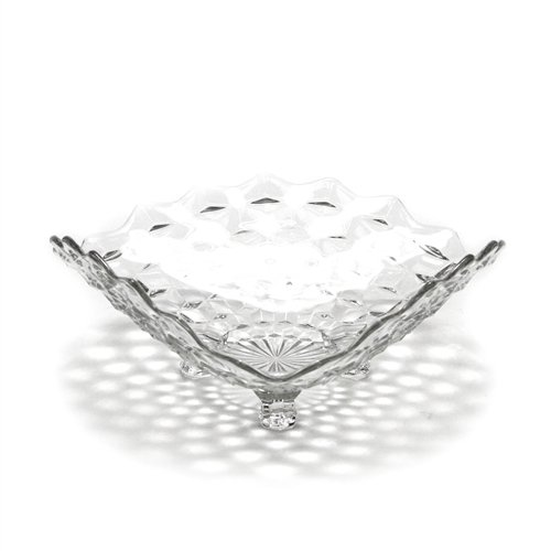 (American by Fostoria, Glass Tricorne Dish, 3-Toed, Large )