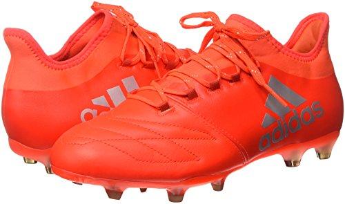 para FG 2 Rojsol Roalre fútbol de X Leather 16 Hombre Botas Rojo Adidas Plamet 6xTw8nq