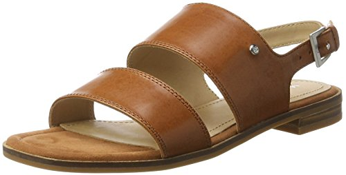 Marc OPolo 70313861102100 Sandal - Sandalias Mujer Marrón (Cognac)