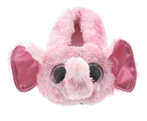 Ty Beanie Boos Little Girls  Slipper Socks (ELLIE Pink Speckled Elephant 3c6e5364d8b7