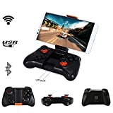 DZYXSB VR Game Pad Android Joystick Bluetooth Controller Selfie Remote Control Shutter Gamepad for PC Smart Phone + Holder