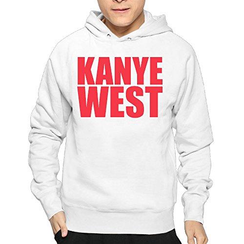 Lightweight 80's Juniors Men' Kanye West Medium Hoodie - Square One Hours Mall
