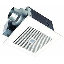 Panasonic FV-08VQC5 WhisperSense 80 Cfm Ceiling Mounted Ventilation Fan with Dual Sensor Motion and Humidity Technology