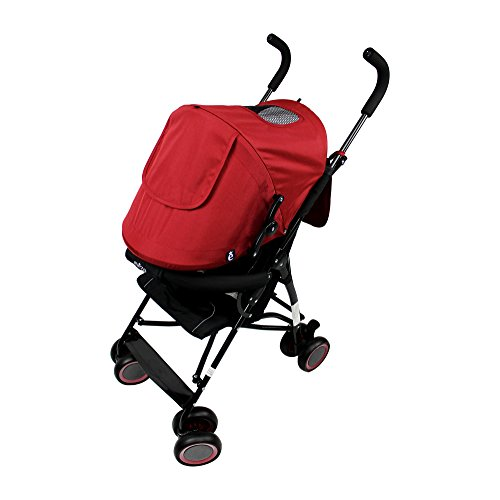 5 Point Harness Reclining Umbrella Stroller - 5