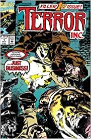 Book Marvel Comics TERROR Inc. Vol 1, 1992