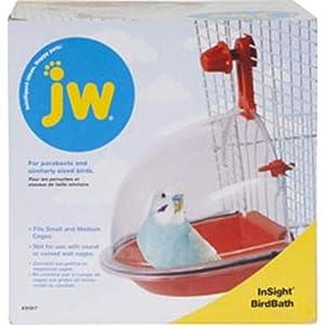 JW Pet Company Insight Bird Bath Bird Accessory 47