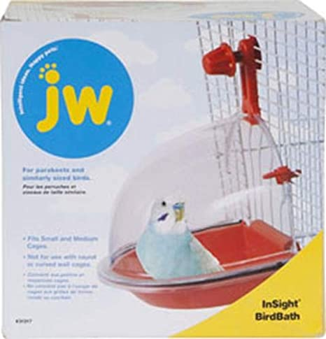 JW Pet Company Insight Bain d'oiseaux Bird Accessoire