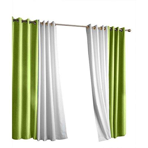 Outdoor Decor Gazebo Grommet Outdoor Curtain Panel Green 50 x 96