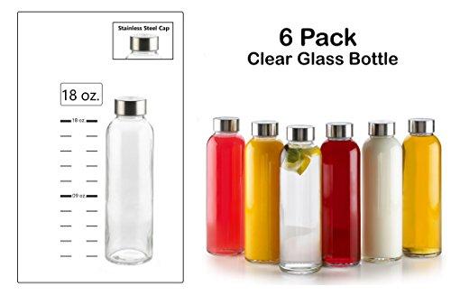glass juicer bottles - 3