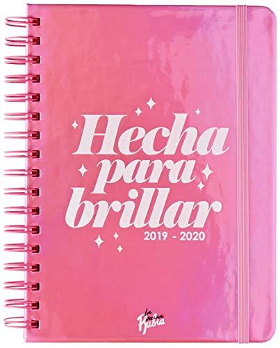 Agenda escolar 2019-2020 La Vecina Rubia (TANTANFAN)