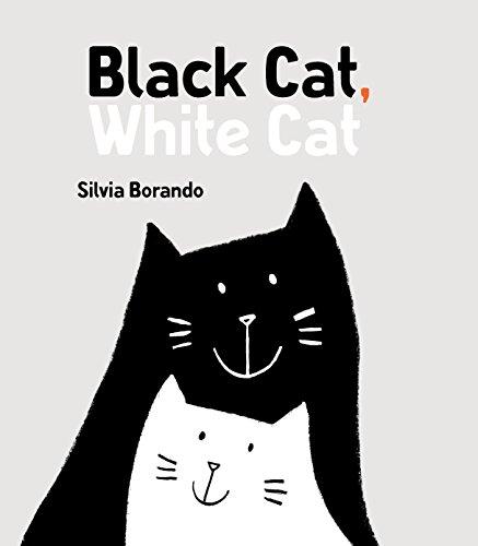 Book Cover: Black Cat, White Cat: A Minibombo Book