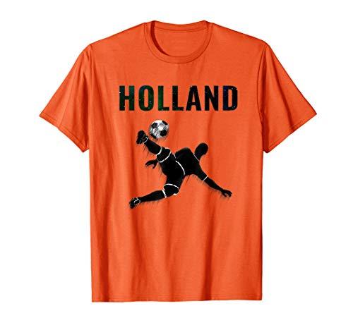 Holland Dutch  Netherlands Shirt Soccer  Football 2019  T-Shirt (Best Footballers Of 2019)