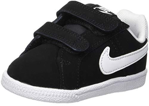 Nike Court Royale (TDV) Toddler 833537-002 Size 7 Black/White