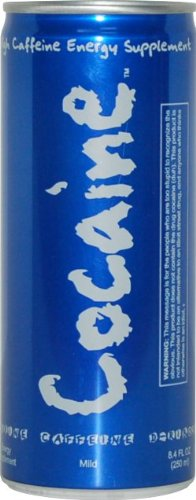 Cocaine Mild Flavor Energy Drink product image