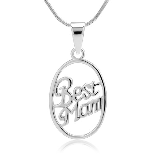 Sterling Pendant Necklace Jewelry Mothers product image