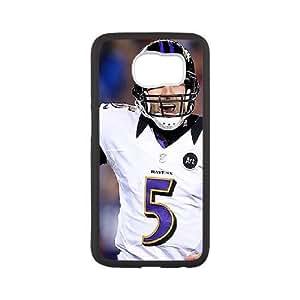 Samsung Galaxy S6 Phone Case White Baltimore Ravens VCN8558958