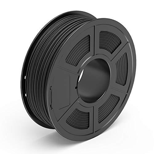 GEEETECH Filamento PLA 1.75mm para impresi/ón 3D Negro 1kg Spool