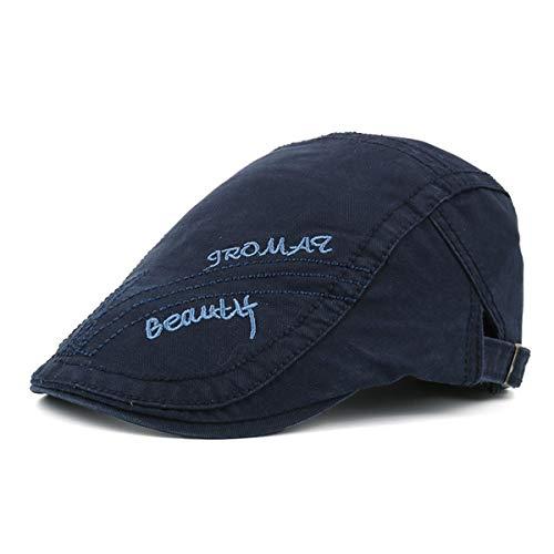 del C hat B Hombres Visera Sol los Vintage del del Sombreros de Hombres Pato Sombrero Pintor de del los Sombrero algodón del del qin Sombrero Ocasional GLLH SFwHqa5Bx