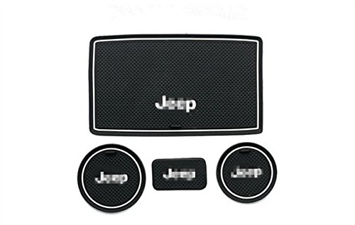 jeep auto cup holder coasters - 4