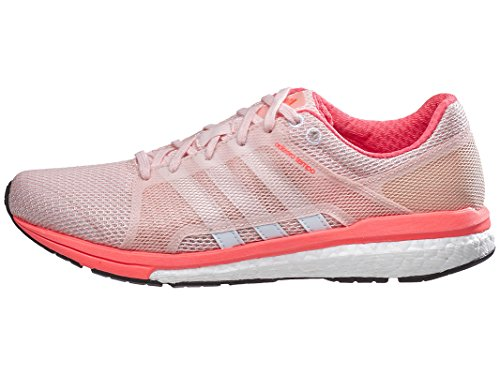 Adidas Prestaties Van Vrouwen Adizero Tempo 8 Ssf W Vrouwen Loopschoen Damp Roze / Wit / Zonne-rood