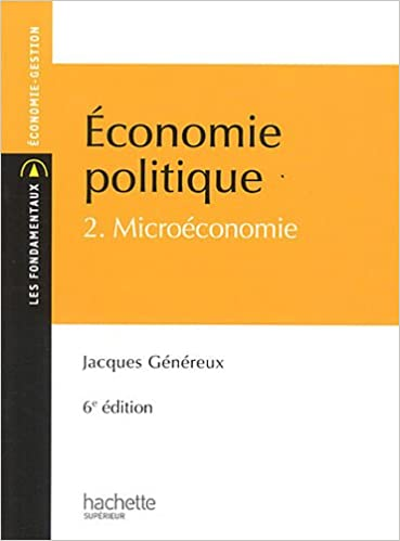 Téléchargement Économie politique 2 : Microéconomie pdf, epub ebook