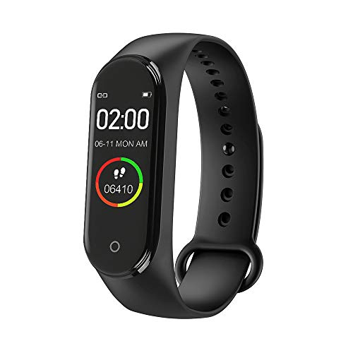 zhiang M4 Fitness Tracker,New M4 Bluetooth Smart Bracelet Sports Activity Tracker with Step Counter, Calorie Counter…