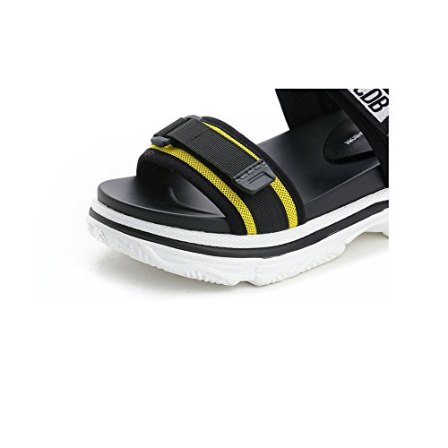Parte Playa La Los De Gruesa Sandalias Yellow Verano Salvajes Plana Del Deportivas Zapatos Yxlong Femeninos Estudiantes Suela Inferior B8zq7ygw
