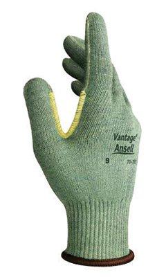 Ansell Vantage ® 10 Gauge Medium Weight Kevlar ® Fiber String Gloves - Size 8 - 1 Pair - 70-761-8 (Kevlar Knit Weight Medium String)
