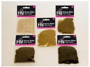 Standard Weight Dark Brown Hy Horse Rider Hair Nets