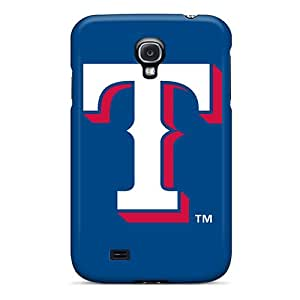 High-end Case Cover Protector For Galaxy S4(texas Rangers)