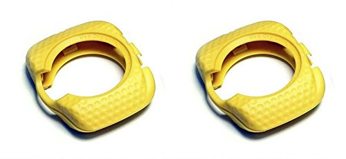 SpeedPlay Walkable Cleats Replacement Covers for Zero AERO (Yellow) ()