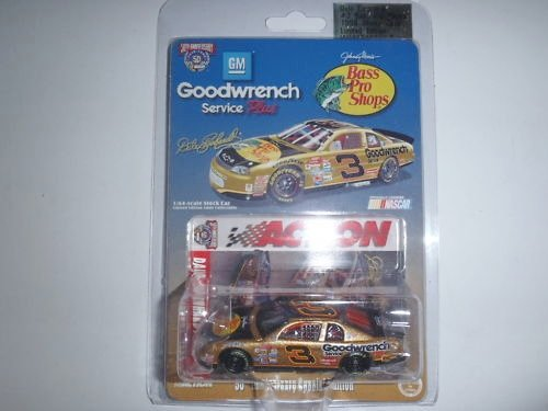 Action Racing Collectibles - Platinum Series - 1998 - Dale Earnhardt - Goodwrench Service Plus - Bass Pro Shops No. 3 Chevrolet Monte Carlo - 1/64 Scale Limited Edition Die Cast Replica Race Car - NASCAR