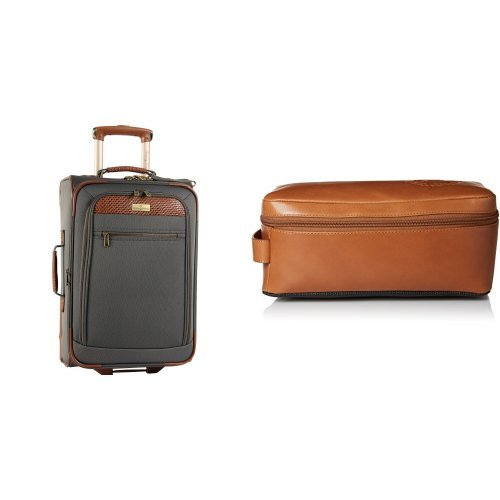 Leather Lined Carry On - 9
