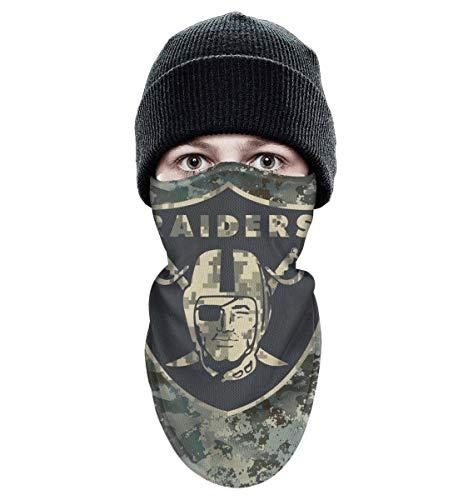 RHARAD Half Balaclava Fleece Winter Warm Camouflage Camo Winter Face Mask for Mens Womens]()