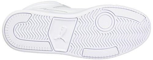 Puma Unisex-Kinder Rebound Street V2 L Jr Sneaker Weiß (White-White)