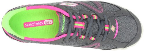Skechers Intricate, Baskets mode femme Gris (Cchp)