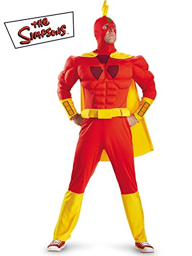 Radioactive Man Classic Muscle Costume Mens XXL (50-52) -
