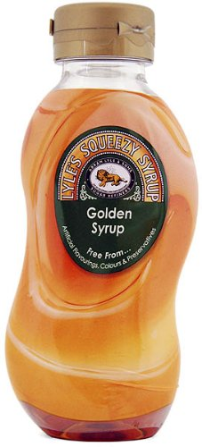 Tate & Lyles Squeezy Golden Syrup (6 - 11oz Bottles)