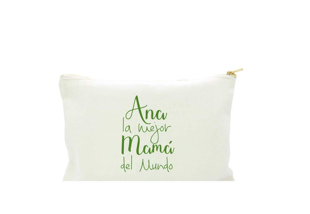 Neceser para Mamá Personalizado en algodón blanco o negro.varios ...