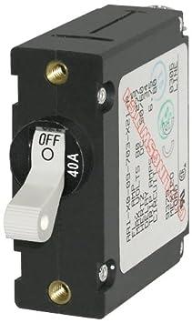 Blue Sea Systems A-Series Toggle Single Pole Circuit Breakers