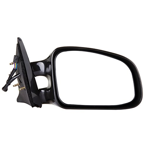 SCITOO Door Mirrors, fit Pontiac Exterior Accessories Mirrors fit 1999-2003 Pontiac Grand Am with Power Controlling Non-telesccoping Non-Folding Features (Passenger Side) (Pontiac Mirror Door Grand Prix)