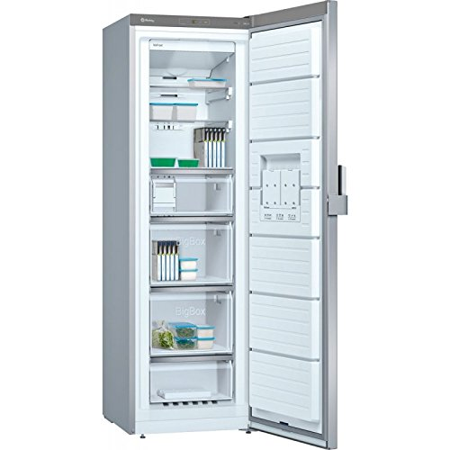 Balay 3GFB647XE Independiente Vertical 242L A++ Acero inoxidable - Congelador (Vertical, 242 L, 20 kg/24h, SN-T, Sistema de descongelado, A++)