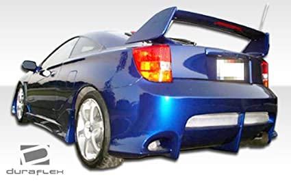 Duraflex ED-VKS-858 Xtreme Side Skirts Rocker Panels 2 Piece Body Kit Compatible For Toyota Celica 2000-2005