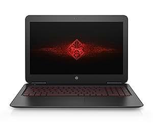 "Hewlett Packard V7R98LA Portátil Omen 15.6"", Intel Core i5-6300HQ 8 GB RAM 1 TB Disco Duro Windows 10, color Negro"