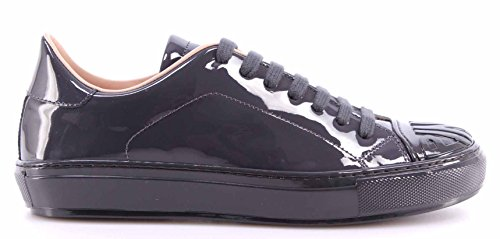 Women's Shoes Sneakers PINKO Shine Baby Shine Biancospino Anthracite Patent New rAYzxFORE