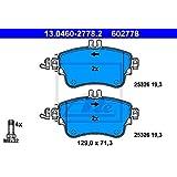 4-teilig HERTH+BUSS JAKOPARTS J3606021 Bremsbelagsatz Scheibenbremse